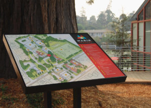 Marin Academy Map