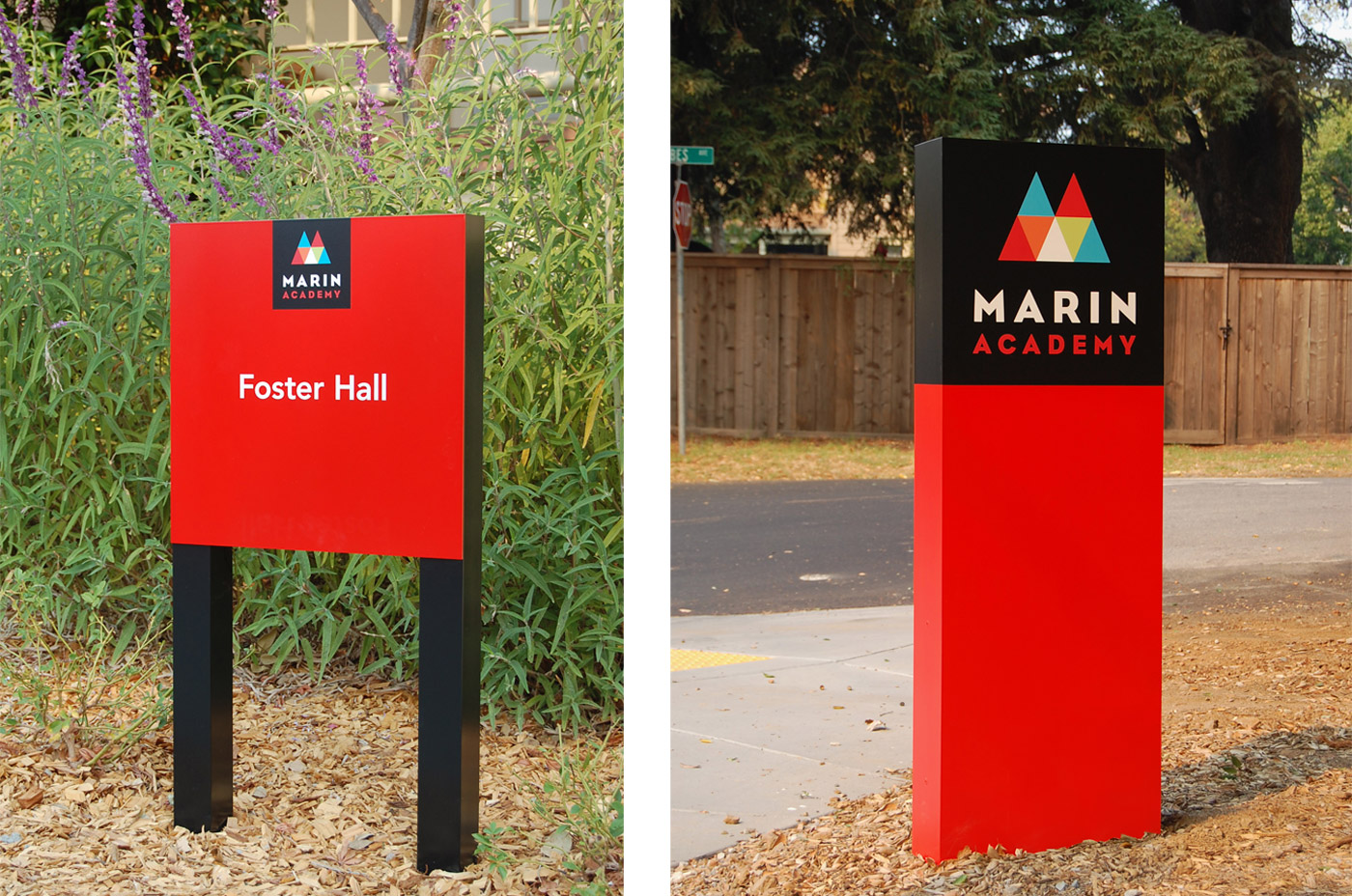 Marin Academy Signs