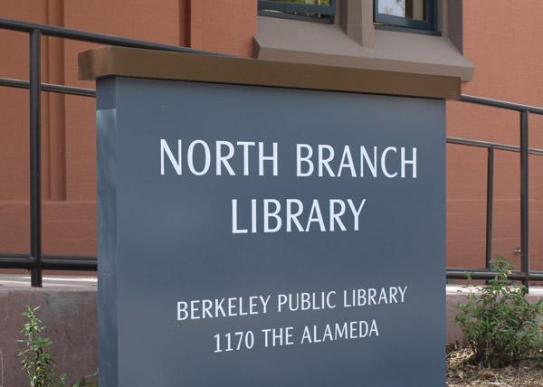 Berkeley Public Library Signage