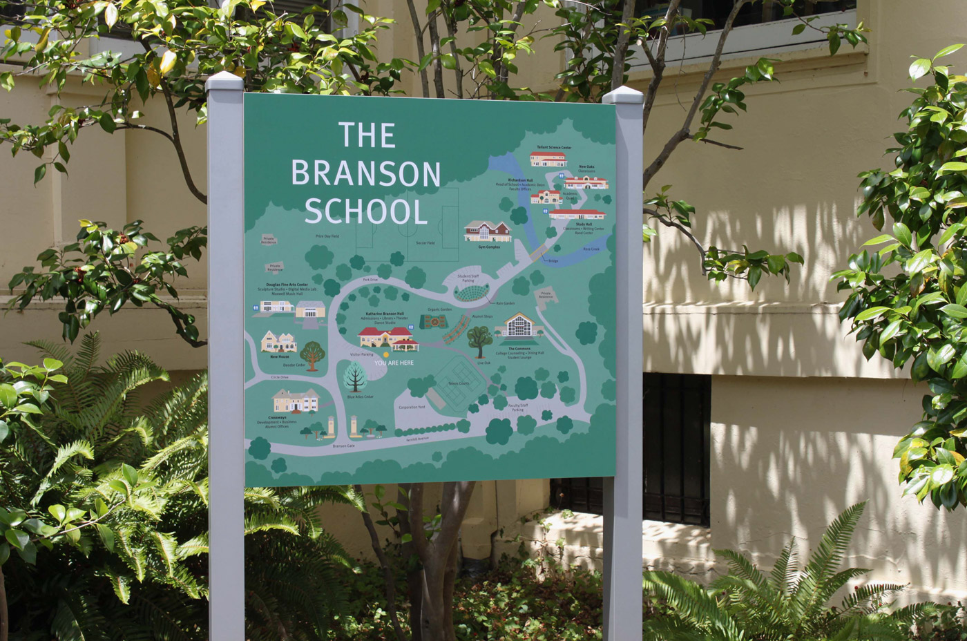 The Branson School Map
