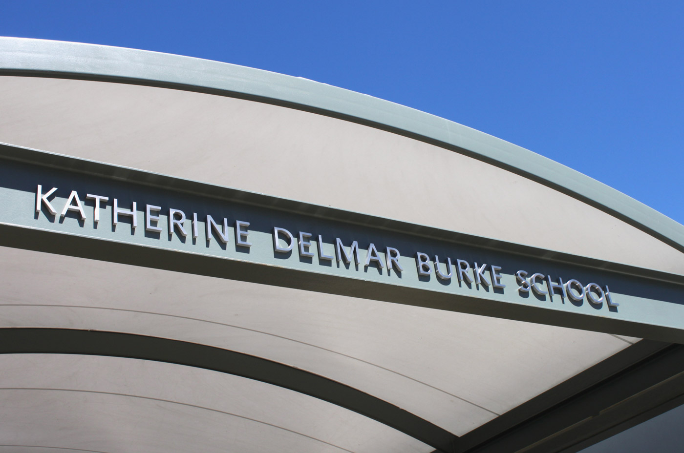 Katherine Delmar Burke School Signage