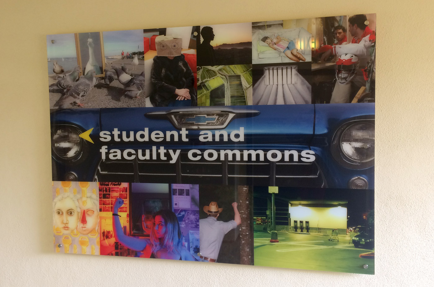 University High School Environmental Signage