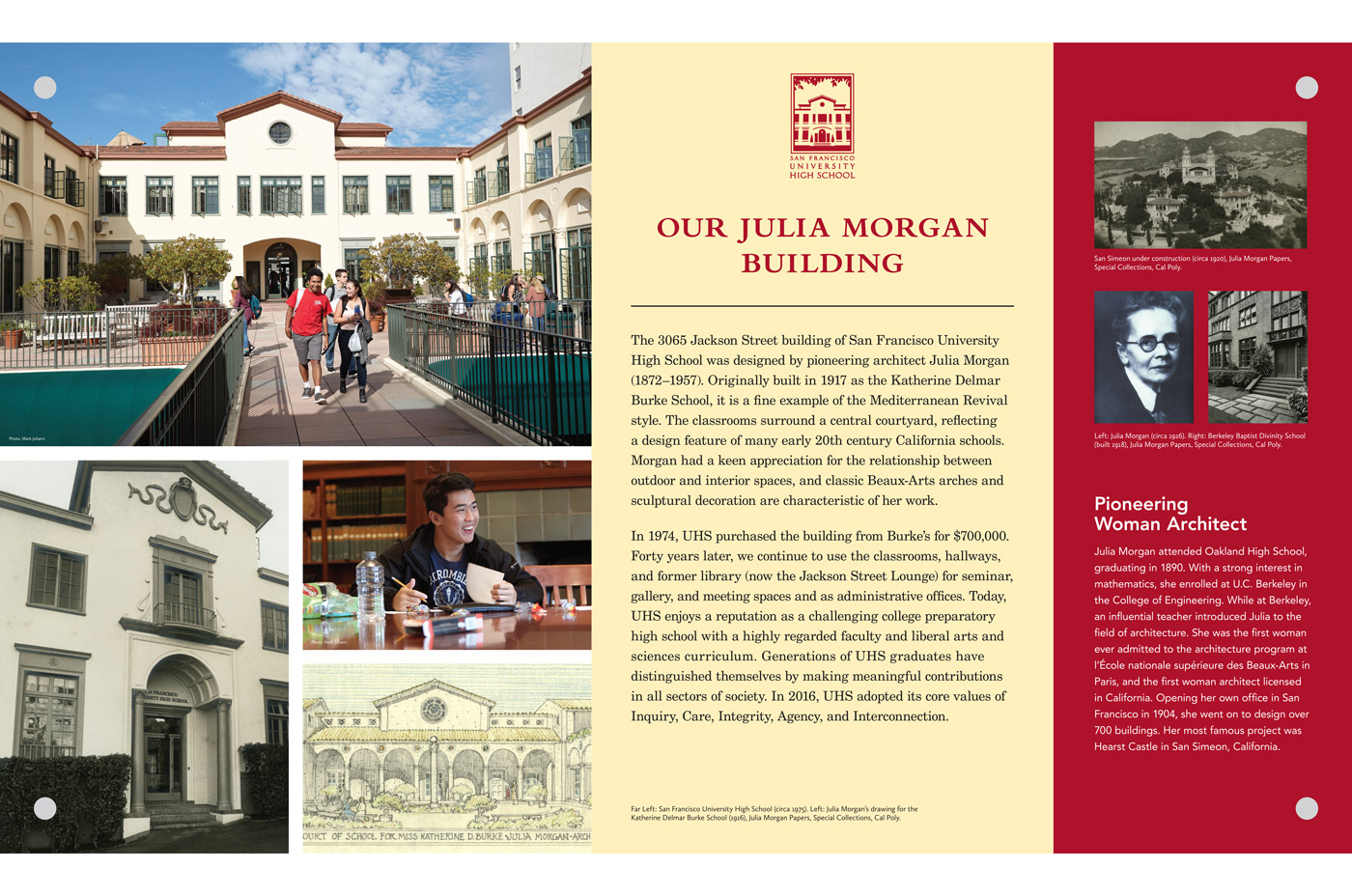 San Francisco University High School Julia Morgan Building