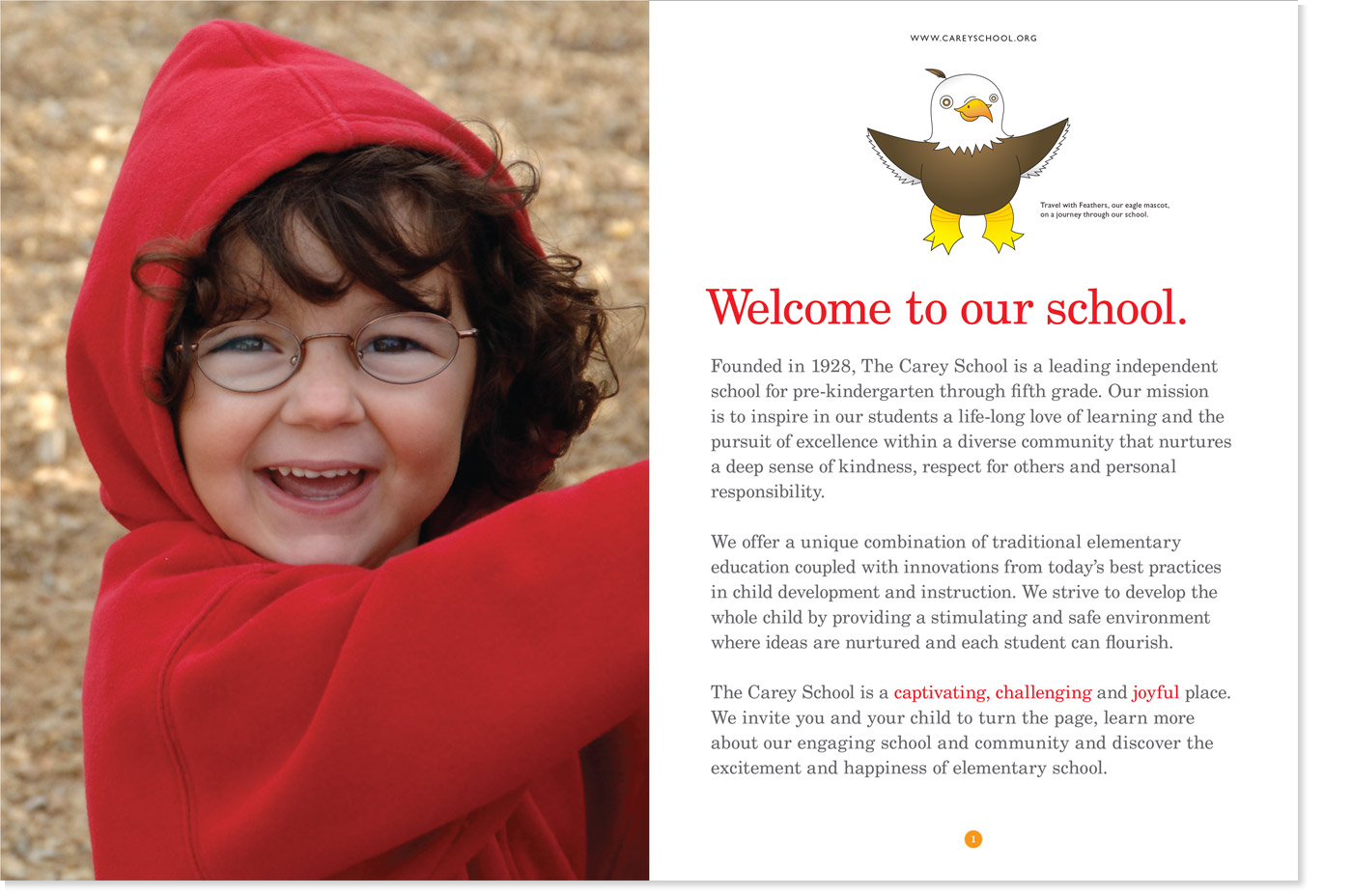 The Carey School Admissions Brochure