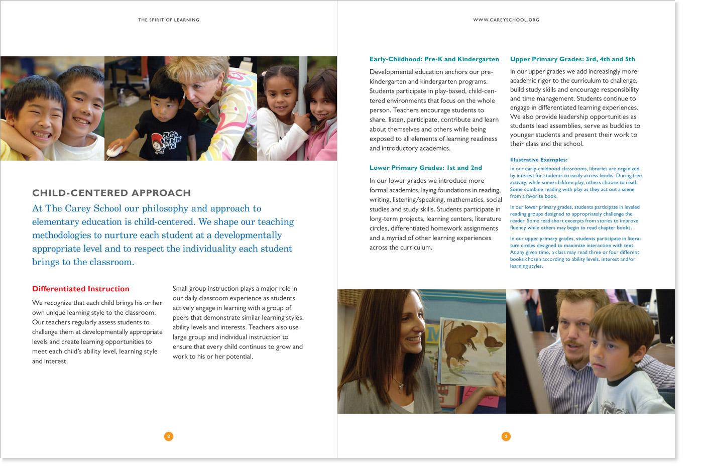 The Carey School Admissions Brochure